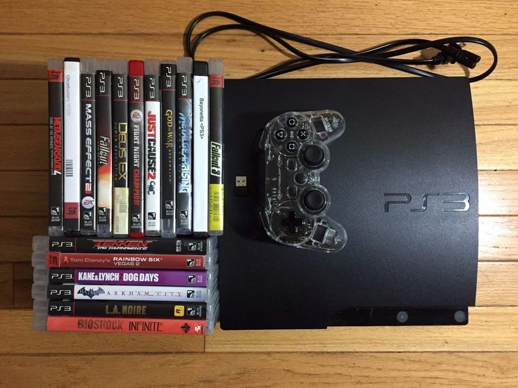 160 GB Playstation 3 PS3 Bundle Afterglow wireless USB controller 17 Games MGS4: $60.00 (0 Bids) End Date: Monday Aug-28-2017 22:29:16 PDT…