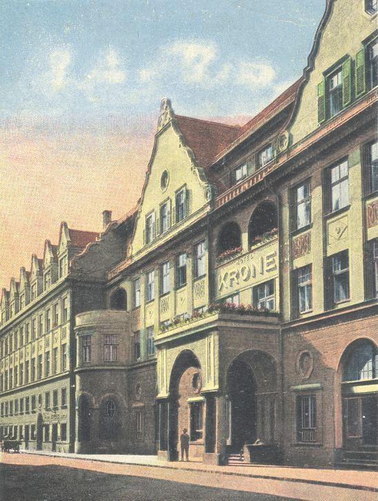 Brasov - Hotel COROANA - antebelica