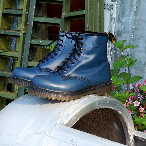 Vintage 1980s Dr Martens - mine where darker...luved to wear them while slam dancing at the underground punk clubs.