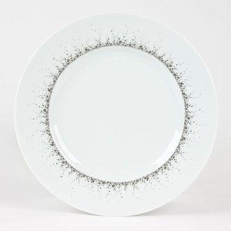 Assiette à dessert en porcelaine D.22cm - Lot de 6 BOREALIS