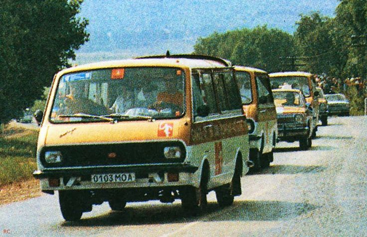 RAF 2907 Olypmic torch car 1980