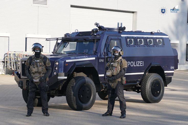 Interventionsübung der Polizei Hamburg bei terroristischen Lagen | MEK Hamburg, Germany
