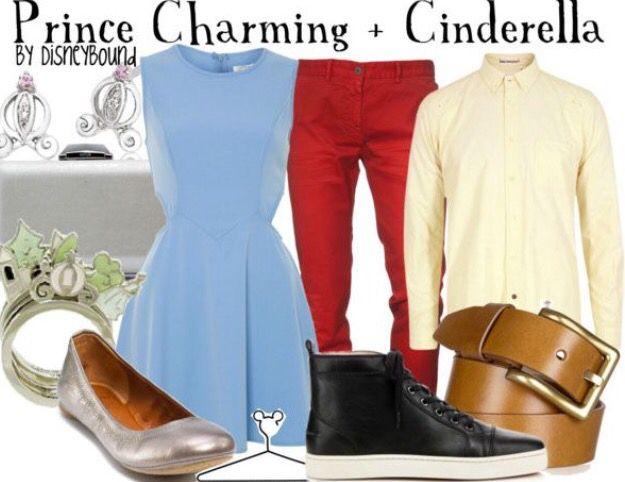 Cinderella and Prince Charming couple Disneybound!!!!