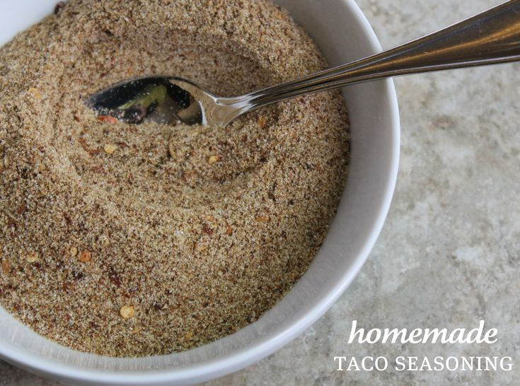 Have you ever read the ingredients label on your taco seasoning packet? Sadly, we average two taco dinners a week and I always assumed...