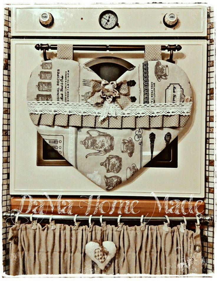 Copriforno cuore vintage