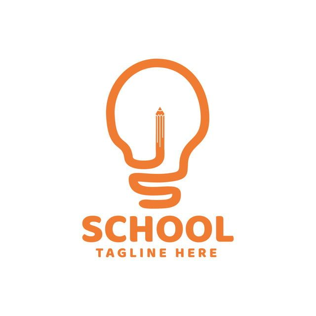 التعليم المدرسي القلم كتاب رمز شعار تصميم قالب إلهام Certificate Templates Template Design Logo Design Template
