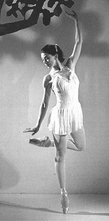 """""""Margot Fonteyn didn't have great feet""""... """"Well, when Margot Fonteyn was on stage you couldn't tear your eyes away from her.""""- Center Stage"""