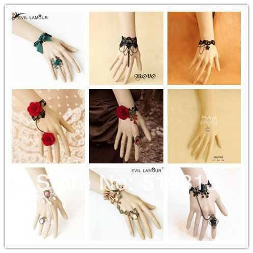 Cheap jewelry fashion, Buy Quality wedding party jewelry directly from China wedding wholesale jewelry Suppliers:2014 Bracelet and ring set Gothic bracelet jewelry charms promise rings wedding decoration designer for women 2013 Free