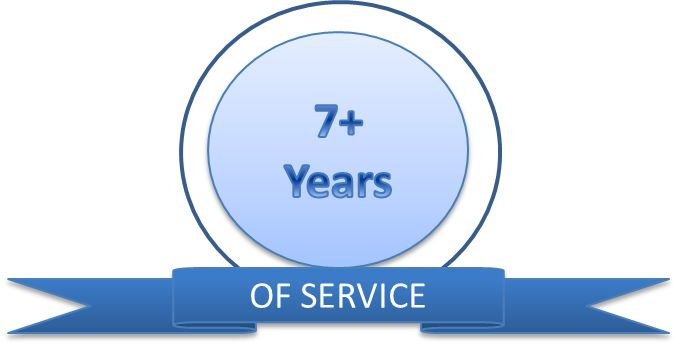 Celebrating 7 years of servicing clients and still going strong!  - www.wecleanitall.co.za