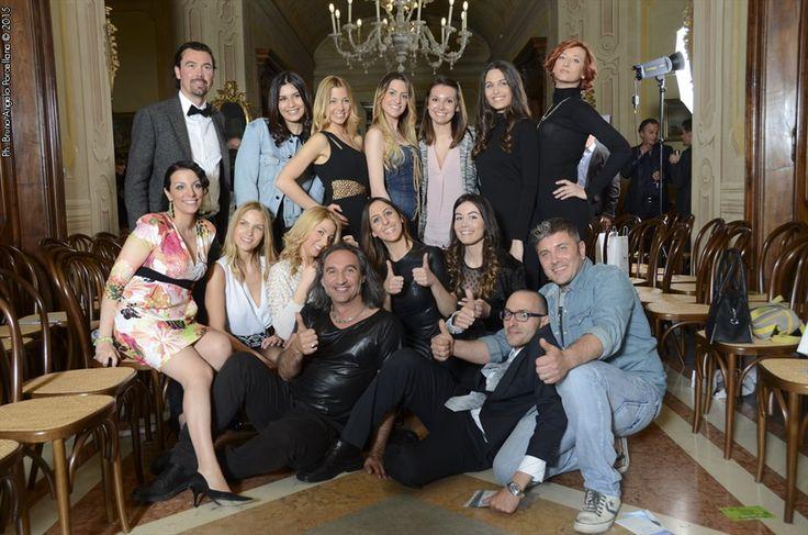 Sfilata Moda Poluzzi II parte - Foto di gruppo