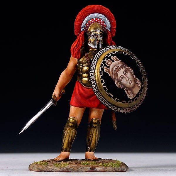 The life of a greek hoplite