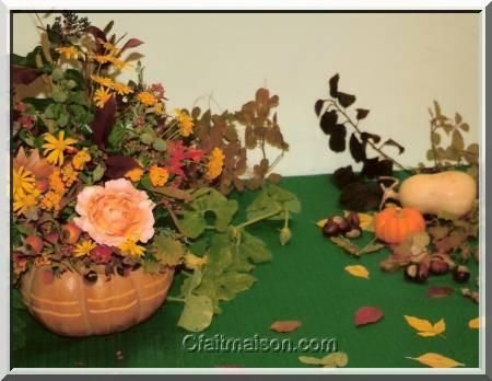 id es d co de table automne automne pinterest ikebana. Black Bedroom Furniture Sets. Home Design Ideas