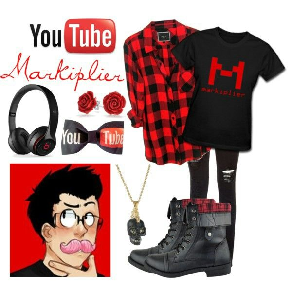 Yep its Markiplier fashion! And its awsome!!!!! I really like the shirt i might order it off amazon!!!!