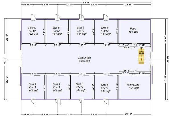 Best 25 horse barn designs ideas on pinterest dream for Simple pole barn house plans