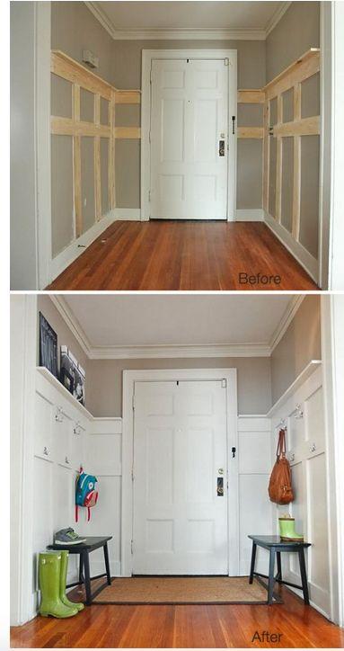 DIY Remodel of Small Unused Space