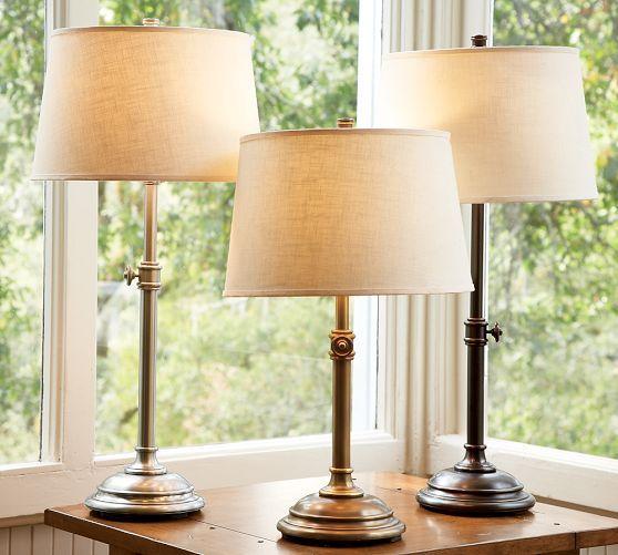 Chelsea Table & Bedside Lamp Base | Pottery Barn