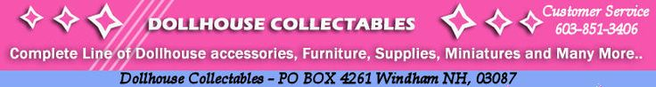 Dollhouse Collectables - Dollhouse Furniture
