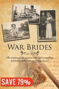 With the war bride story tweaking and