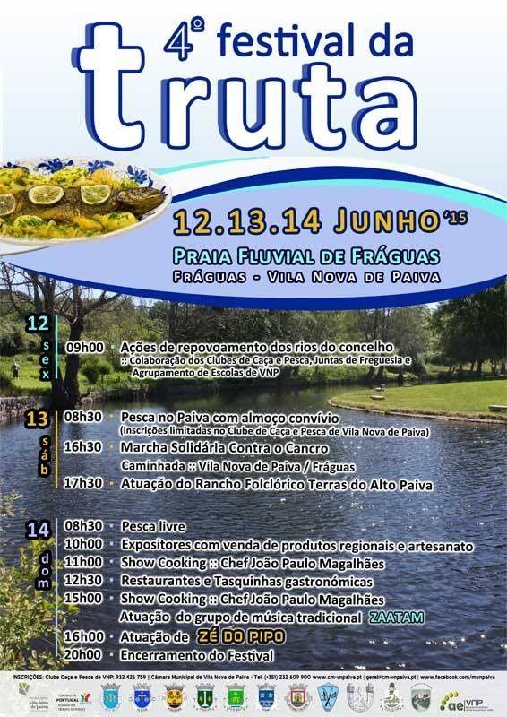 4º Festival da truta do Rio Paiva em Vila Nova de Paiva - 2015
