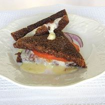 Eastern European Grilled Kashkaval Cheese Sandwich