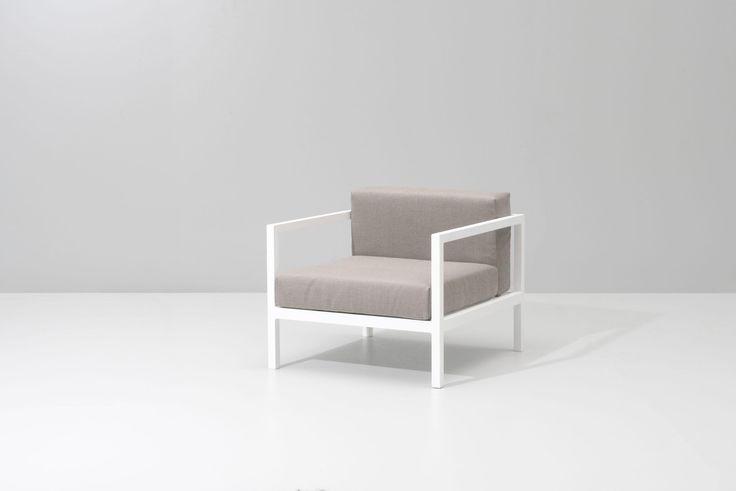 """Kettal    Landscape   Club armchair L 30.7""""W x 33.4""""D"""