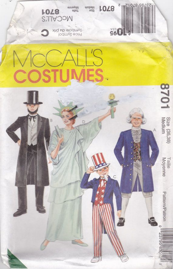Apologise, but sewing pattern of adult statue of liberty think