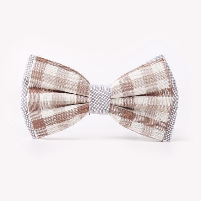 Mens Bow Tie Fashion Colorful Plaid Butterfly Ties Men Casual Business Tuxedo Bowtie Groom Marry Groomsmen Wedding Party Cravat
