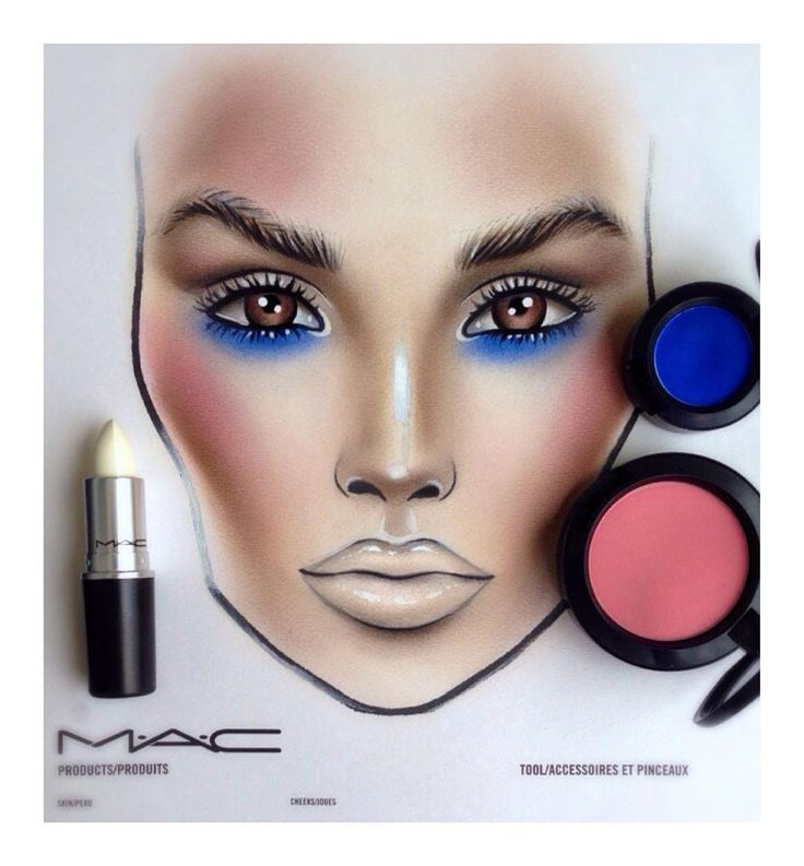best 25 mac face charts ideas on pinterest face charts
