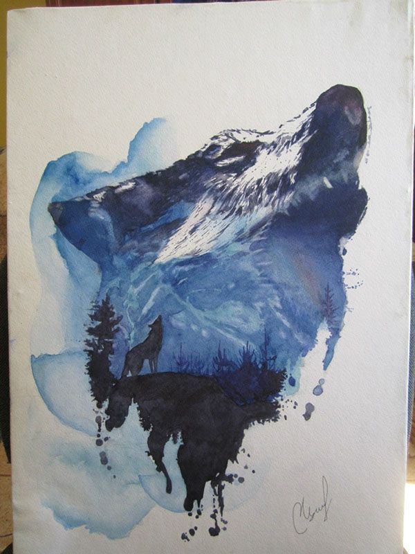 Abstract Wolf on Behance