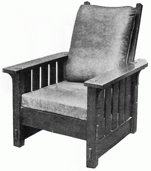 stickley reclining chair no 332 - Mission Style Recliner
