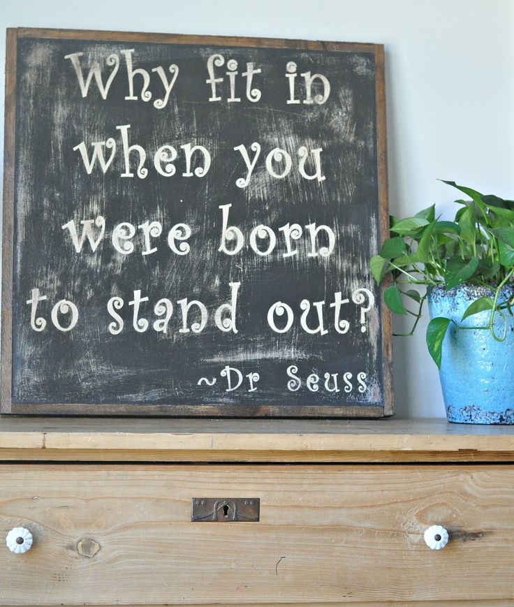 Dr Seuss Sign by BetweenYouAndMeSigns on Etsy