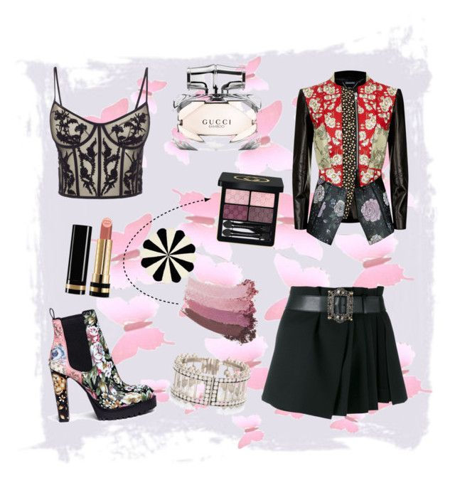 """""""Alexander McQueen"""" by spookie1 on Polyvore featuring Alexander McQueen, Gucci and PBteen"""