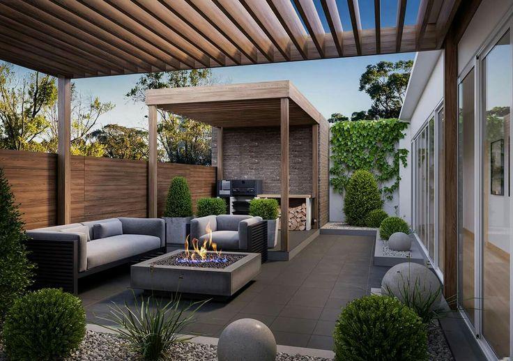 Rooftop deck ideas #rooftop_garden_pergola