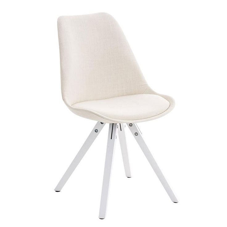 Jídelní židle Damian II., bílá podnož (SET 2 ks) - 3