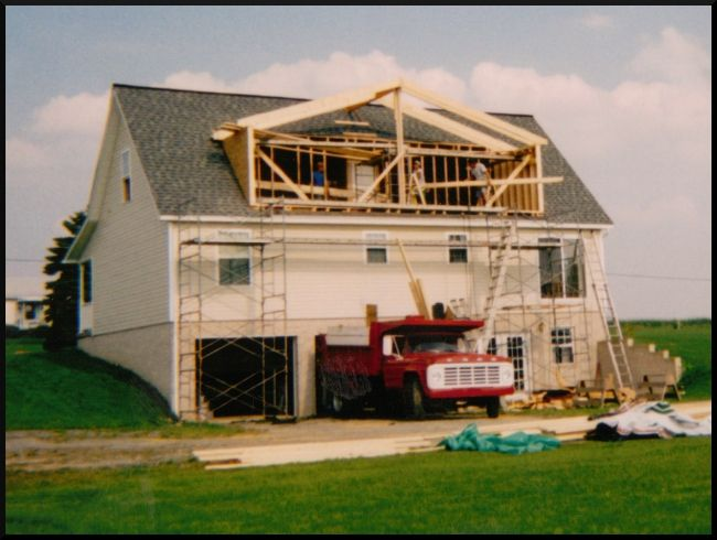 Cape cod home addition ideas this addition we needed to for Building onto a house