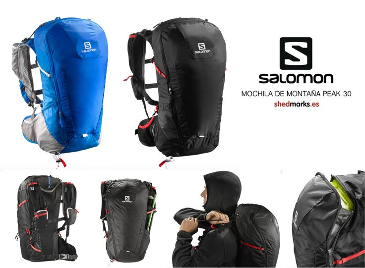 Mochila de montaña Salomon Peak 30 http://www.shedmarks.es/mochilas-montana/3679-mochilas-salomon-peak-30-negro.html