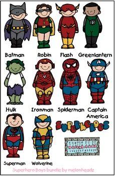 Superhero boys bundle by melonheadz