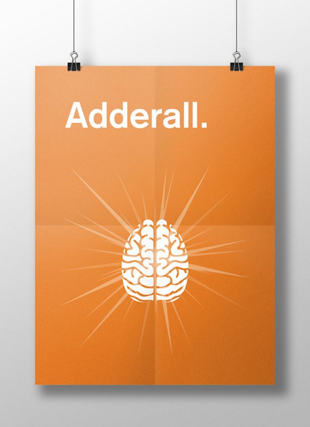 Meaghan Li || This is your brain on drugs: Adderall || http://www.meaghanli.com/