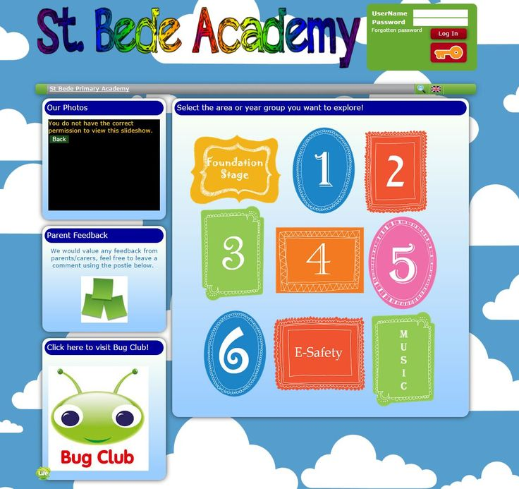 St Bede Academy in Bolton have a lovely inviting front page. They are using their slideshow tool to share inspiring messages for the students and parents and they are also using the posties to encourage parents to leave a comment and give feedback to the school.