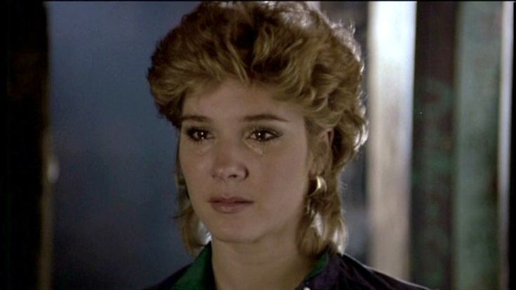 """CYNTHIA RHODES in """"Staying Alive"""" (1983). She also co-starred in """"Dirty Dancing"""""""