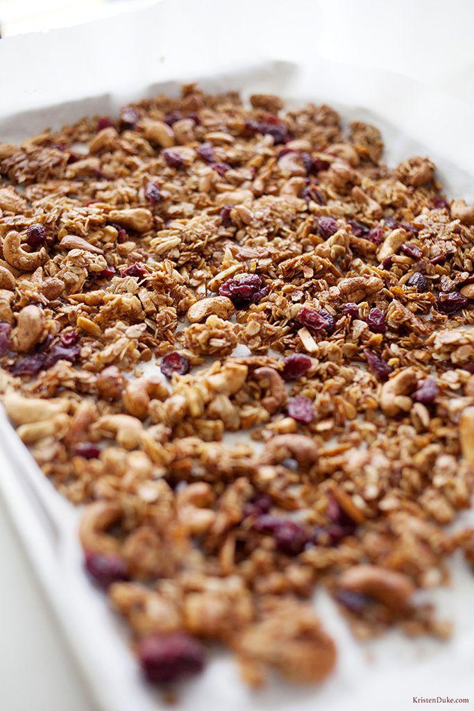 Healthy Granola Recipe Granola Food Recipes Food