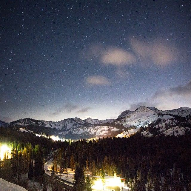 Dreaming of Brighton Resort's snow capped mountains
