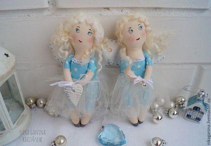 Ангелочек. Текстильная кукла ручной работы.