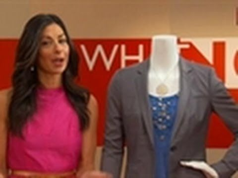 "http://www.youtube.com/watch?v=6wlHEgDBtUg  The hosts of TLC's ""What Not to Wear"" encourage job applicants to buy a suit for interviewing!"