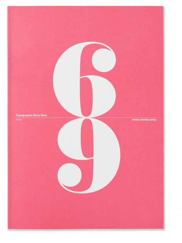 Cover: 69th edition of the Journal of the International Society of Typographic Designers