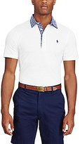 Polo Ralph Lauren Polo Golf Lisle Jersey Short-Sleeve Solid Polo Shirt