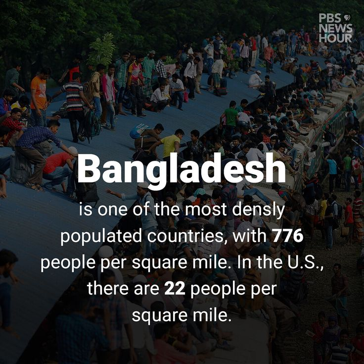 Tonight's #NewsHourFacts take a look at overpopulation, voter turnout by race and the overwhelming number of Bangladeshis who live below the poverty line. Catch the full story for each of these facts...