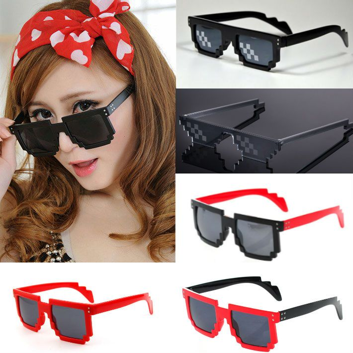 Kawaii Clothing | Gafas Pixel Glasses WH384 | Online Store Powered by Storenvy