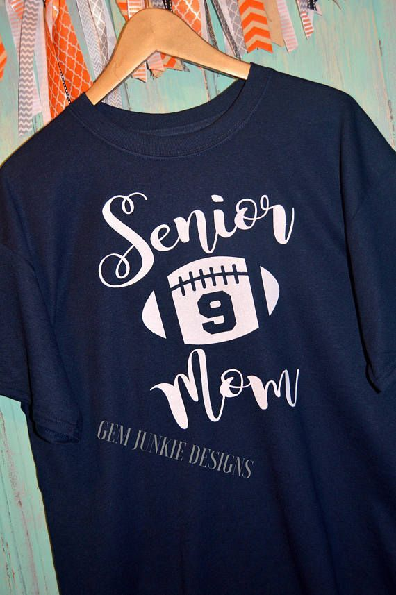 16ecb3bb Custom order this Senior Mom gem just for you... shown on a 50/50 Dry Blend  T-shirt. True to size, unisex fit. This tee is soft and 50/50... to keep  you ...