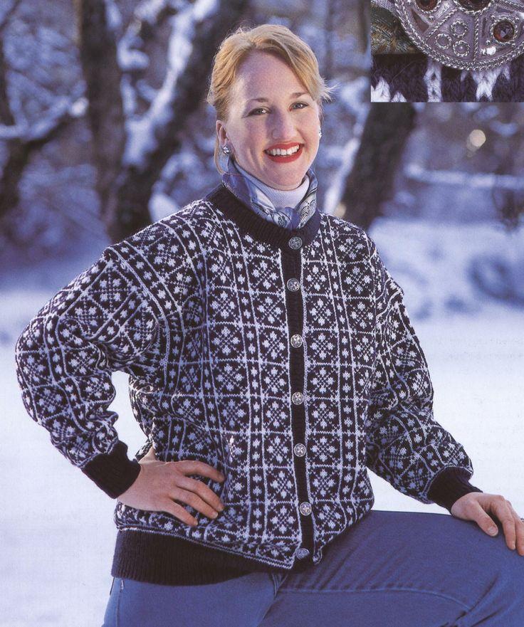 Østerdalskoften - Norske kofter og gensere. Osterdal's cardigan - Norwegian cardigans and sweaters